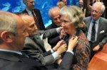 Selma Huxley a été récemment honorée de la médaille d'or de l'Aquarium de Saint-Sébastien. (photo J. I. UNANUE/« diario vasco »)