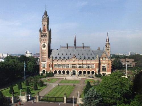 Siège de la Cour internationale de justice (CIJ) à La Haye.