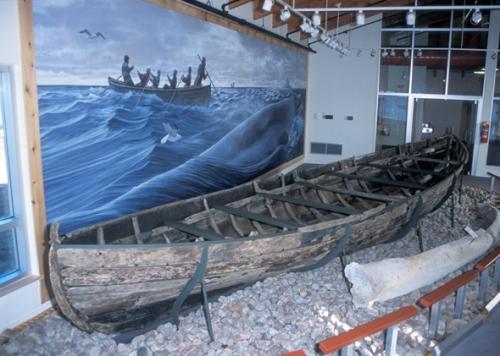Depuis plus de 400 ans, cette chalupa basque – la plus ancienne baleinière connue en Amérique du Nord – repose silencieusement sous les eaux frigides de Red Bay, au Labrador.© Parcs Canada