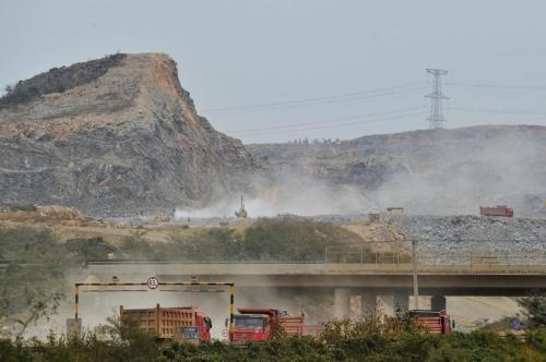 Le chantier atteint déjà 11,5 milliards de yuans (3,2 milliards d'euros). Photo : DR