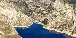 Le parc national des Calanques, près de Marseille. | AFP/BORIS HORVAT