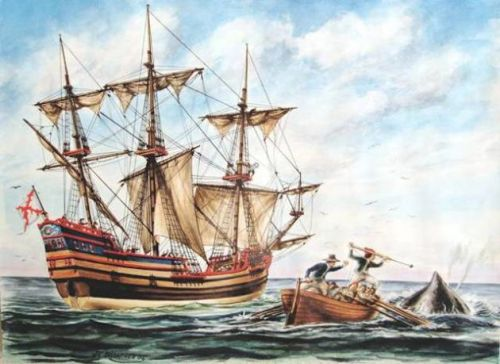 Baleinier basque du 17ème siècle