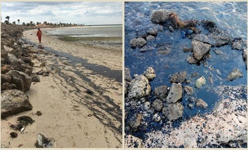Kerkennah-Sfax-Fuite-petrole
